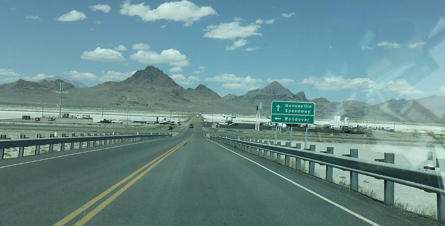 Bonneville Salt Flats Exit 4