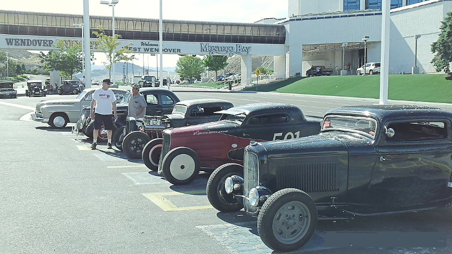 Street Rods During Speed Week At Golden Nugget Montego Bay